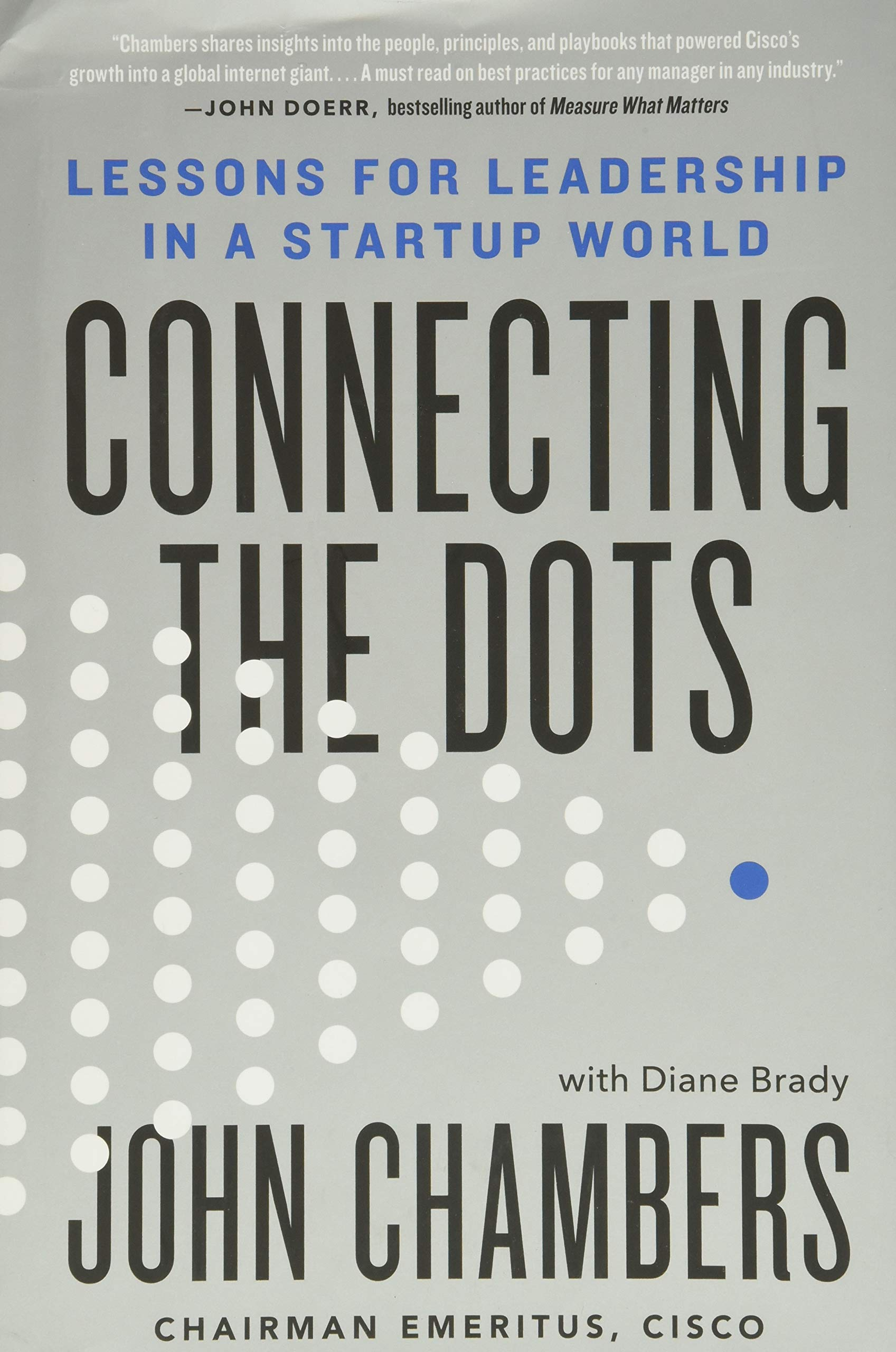 Connecting-the-Dots-John-Chambers - Cisco - startup book