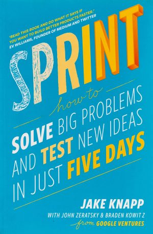 Sprint - Jake Knapp Startup Book Cover Image