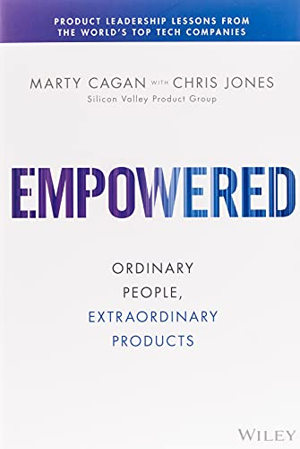 Empowered-Ordinary-People-Extraordinary-Products startup book image cover